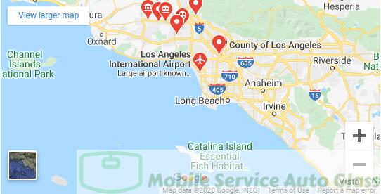 Auto Glass Service in Los Angeles and Ventura County
